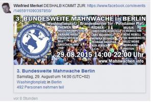 Ausschnitt aus Bildzitat Screenshot Facebook Denkfunk, Thread vom 20.08.15 zu dem Christoph-Sieber-Appell der Menschenächtung von BILD-Zeitung-Lesern.
