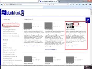 Bildzitat Screenshot Denkfunk Autorenliste