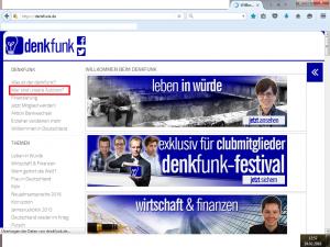 Bildzitat Screenshot von Denkfunk