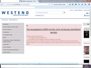 Bildzitat Screenshot der Westend-Verlagsseite