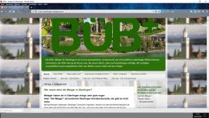Bildzitat Screenshot des Blogs von Bürger für Überlingen e. V. BÜB+: Hier arbeiten Profis, die einen gut les- und navigierbaren Blog mit stets aktuellen Nachrichten, Infos und Dokumentationen betreiben. BEISPIELHAFT!