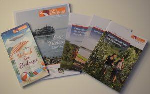 """Foto: Deutsche Bodensee Tourismus GmbH: """"Die neuen Broschüren der DBT"""""""