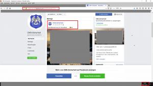 Bildzitat Screenshot (bearbeitet) des Facebook-Accounts der Firma CMS-Sicherheit. Der Presse gegenüber gibt die Gemeinde Langenargen keine Auskunft über die Einsätze des Unternehmens. Aber das Unternehmen selbst berichtet in den sozialen Medien und mit Fotodokumenten selbst über seine Arbeit. (Die Fotos wurden zum Schutz der Bildrechte der Firma CMS-Sicherheit von K. B. unkenntlich gemacht.)