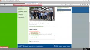 """Bildzitat Screenshot Homepage der Stadt Spaichingen, Rubrik """"Bürgerservice / Gemeinderat / Personen"""": Wer dem dort angegebenen Link auf die FDP Spaichingen folgt, landet direkt bei Schuhverkäufers online."""